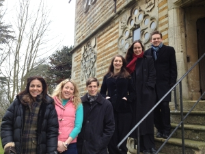 Countryfile Les Canards Chantants with Julia Bradbury and Emily Murphy