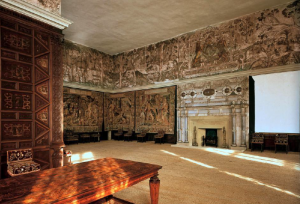 Eglantine Table, High Great Chamber, Hardwick Hall